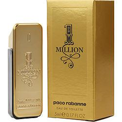 PACO RABANNE 1 MILLION by Paco Rabanne - EDT .17 OZ MINI