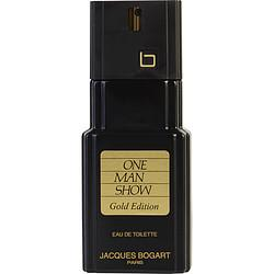 ONE MAN SHOW GOLD by Jacques Bogart - EDT SPRAY 3.3 OZ *TESTER