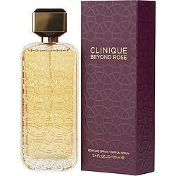 CLINIQUE BEYOND ROSE by Clinique - PERFUME SPRAY 3.4 OZ