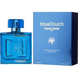 FRANCK OLIVIER BLUE TOUCH by Franck Olivier - EDT SPRAY 3.4 OZ