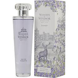 WOODS OF WINDSOR LAVENDER by Woods of Windsor - EDT SPRAY 3.3 OZ (NEW PACKAGING)
