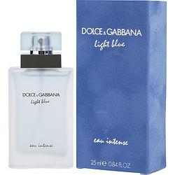 D & G LIGHT BLUE EAU INTENSE by Dolce & Gabbana - EAU DE PARFUM SPRAY .84 OZ