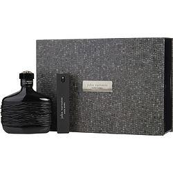 JOHN VARVATOS DARK REBEL by John Varvatos - EDT SPRAY 4.2 OZ & EDT REFILLABLE TRAVEL SPRAY .57 OZ