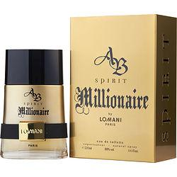 AB SPIRIT MILLIONAIRE by Lomani - EDT SPRAY 6.6 OZ
