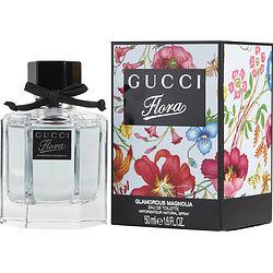 GUCCI FLORA GLAMOROUS MAGNOLIA by Gucci - EDT SPRAY 1.6 OZ (NEW PACKAGING)