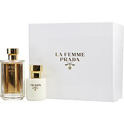 PRADA LA FEMME by Prada - EAU DE PARFUM SPRAY 3.4 OZ & BODY LOTION 3.4 OZ