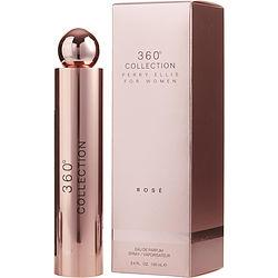 PERRY ELLIS 360 COLLECTION ROSE by Perry Ellis - EAU DE PARFUM SPRAY 3.4 OZ