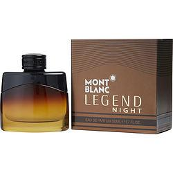 MONT BLANC LEGEND NIGHT by Mont Blanc - EAU DE PARFUM SPRAY 1.7 OZ