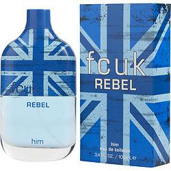 FCUK REBEL HIM by French Connection - EDT SPRAY 3.4 OZ