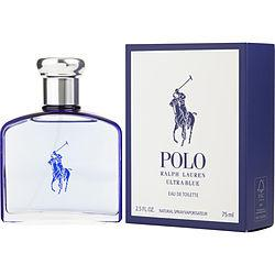 POLO ULTRA BLUE by Ralph Lauren - EDT SPRAY 2.5 OZ