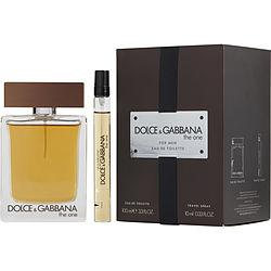 THE ONE by Dolce & Gabbana - EDT SPRAY 3.3 OZ & EDT SPRAY .33 OZ