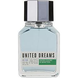 BENETTON UNITED DREAMS GO FAR by Benetton - EDT SPRAY 3.4 OZ (UNBOXED)