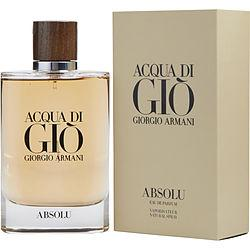 ACQUA DI GIO ABSOLU by Giorgio Armani - EAU DE PARFUM SPRAY 4.2 OZ