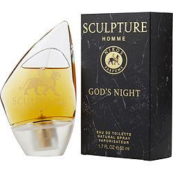 SCULPTURE GOD'S NIGHT by Nikos - EDT SPRAY 1.7 OZ