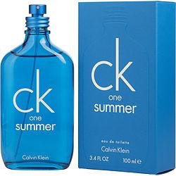 CK ONE SUMMER by Calvin Klein - EDT SPRAY 3.4 OZ (LIMITED EDITION 2018)
