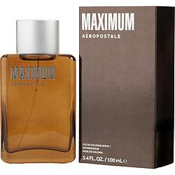 AEROPOSTALE MAXIMUM by Aeropostale - EAU DE COLOGNE SPRAY 3.4 OZ