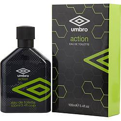 UMBRO ACTION by Umbro - EDT SPRAY 3.4 OZ