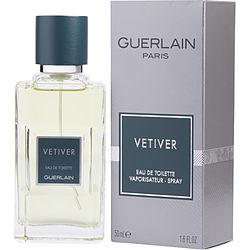 VETIVER GUERLAIN by Guerlain - EDT SPRAY 1.6 OZ (NEW PACKAGING)