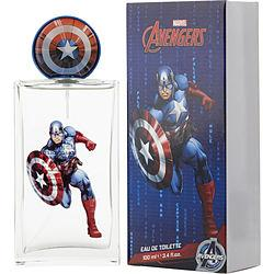CAPTAIN AMERICA by Marvel - EDT SPRAY 3.4 OZ (NEW PACKAGING)