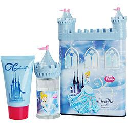 CINDERELLA by Disney - EDT SPRAY 1.7 OZ (CASTLE PACKAGING) & SHOWER GEL 2.5 OZ & CASTLE COIN BANK