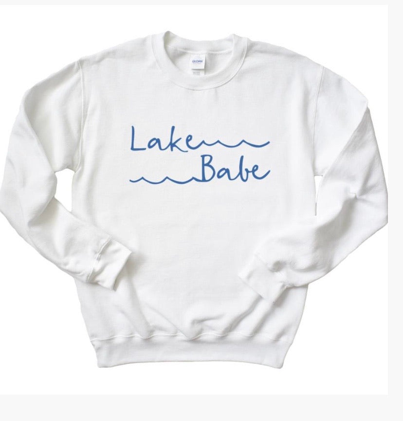 Lake babe sweatshirt