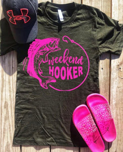 Weekend hooker tee