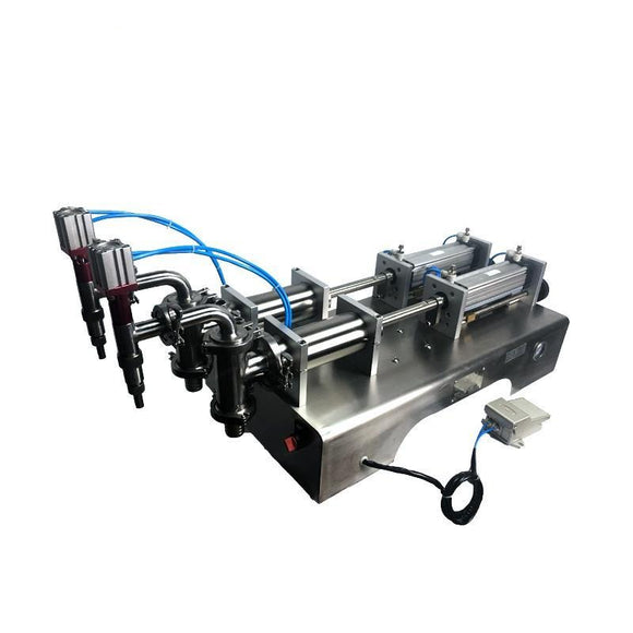 F2 SERIES ELECTRIC AND PNEUMATIC LIQUID FILLING MACHINE FOR WATER, COOKING OIL, JUICE, MILK, WINE