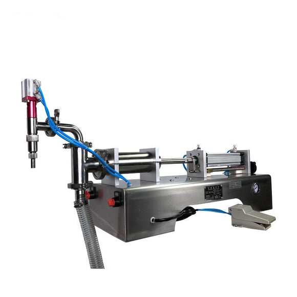 SINGLE NOZZLE ELECTRICAL  MEDICAL ALCOHOL & DISINFECTANT FILLING MACHINE