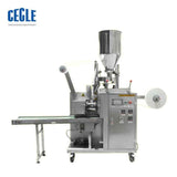 automatic teabag filling and sealing machine, tea inner and outer bag packaging machine for herbal, tea