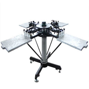 HOTTEST FULL MANUAL T-SHIRT SCREEN PRINTING MACHINE