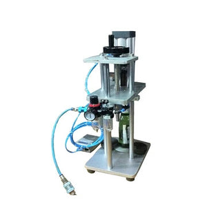 BC-88 PNEUMATIC BEER CAP PRESS CAPPING MACHINE