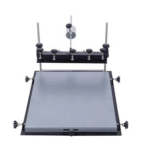 Manual tempered glass silk screen printing machine