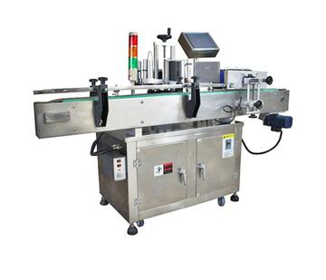AL-220 Automatic round bottle disinfectant sticker labeling machine