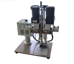 SGJ-70 electric and pneumatic capping machine for dunk mouth shaped caps made of plastic