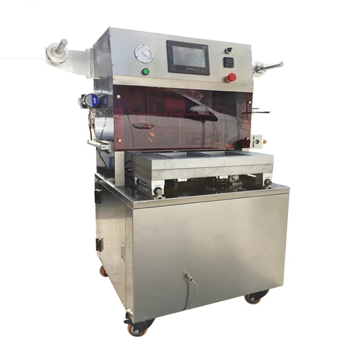 Vacuum Skin Packing Machine For Steak, Raw Meat & Seafood Vacuum Skin Packaging Machine, Food Skin Vacuum Packing Machine
