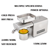 mini palm sunflower olive coconut oil press machine screw household