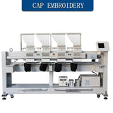 Four Head 12 needless Embroidery Machine