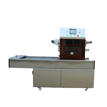 Automatic Map Food Tray Sealer, Modified Atmosphere Packaging Machine