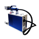 One-piece handheld portable fiber laser marking machine for metals&non-metals