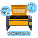 The effective working area of this laser cutting machine LCM-8010 is 80x100cm. There are three laser powers of 60W \ 80W \ 100W to choose from, and its laser type is CO2.