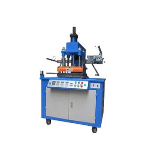 HGP-300 SEMI-AUTOMATIC HOT FOIL SOAP METAL HYDRAULIC HOT STEEL ALUMINUM STAMPING PRESS MACHINE
