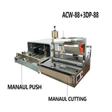 Semi-Auto Cellophane Wrapping Machine For Cigarette And Perfume Box