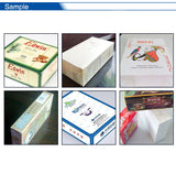 Semi-Automatic Cellophane Cigarette Box Wrapping Machine