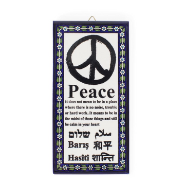 Meaning of Peace Ceramic Art
