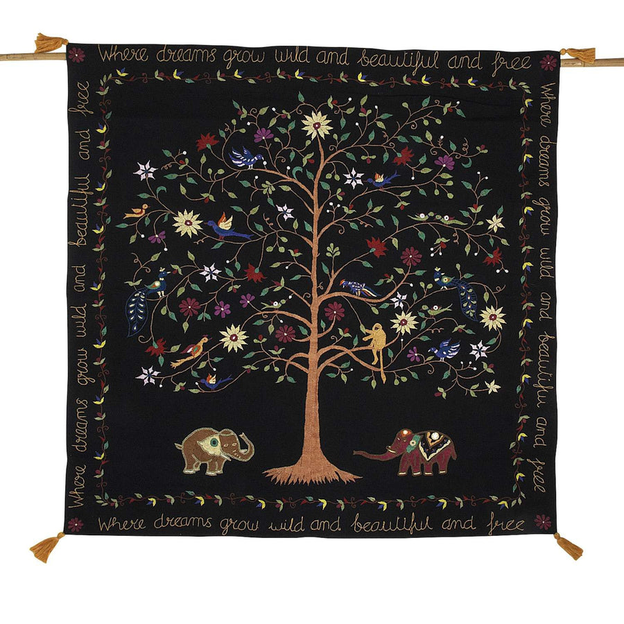 Wildly Beautiful Dreams Wall Hanging