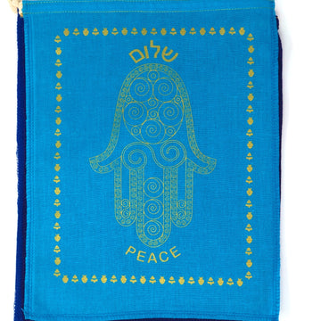 Jewish Blessing Hamsa Flags