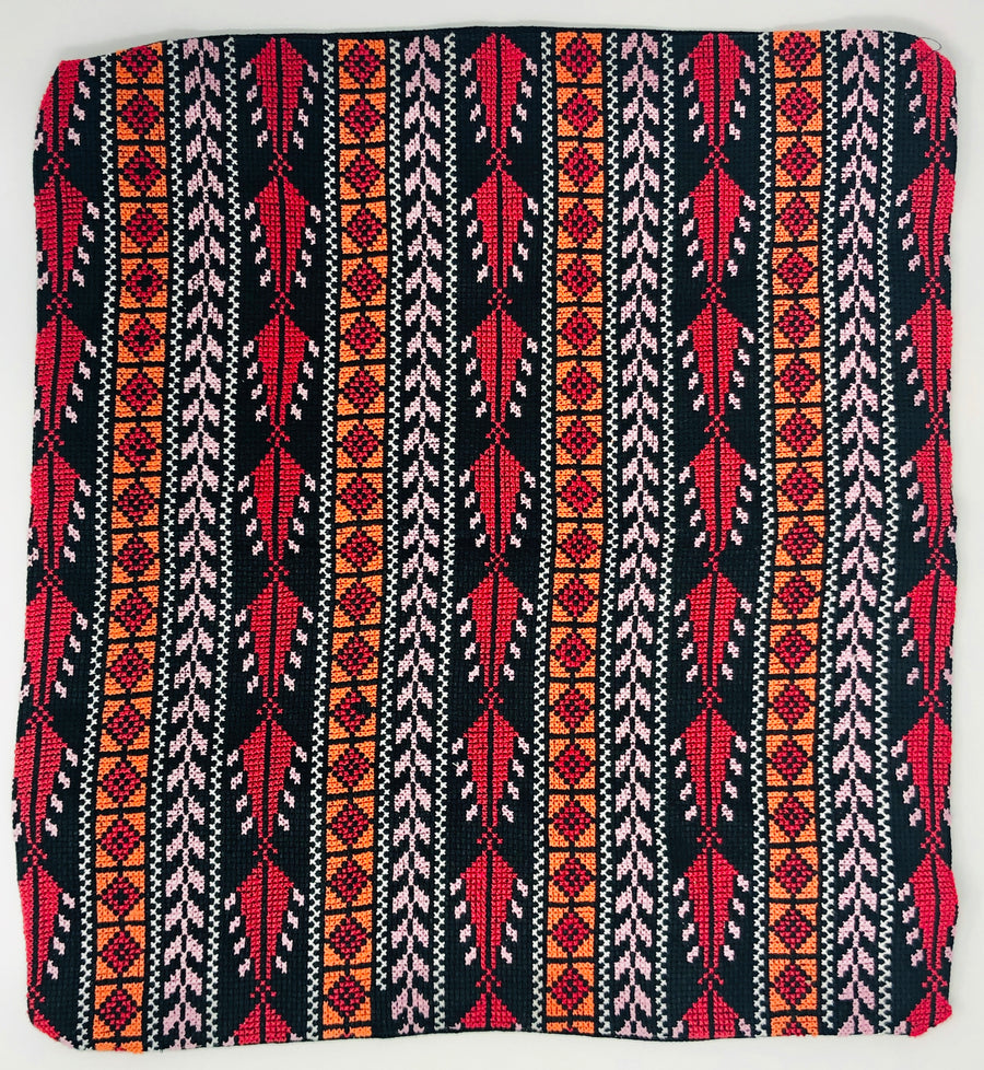 Bedouin Embroidery - Pillow Covers (14-1/2x15