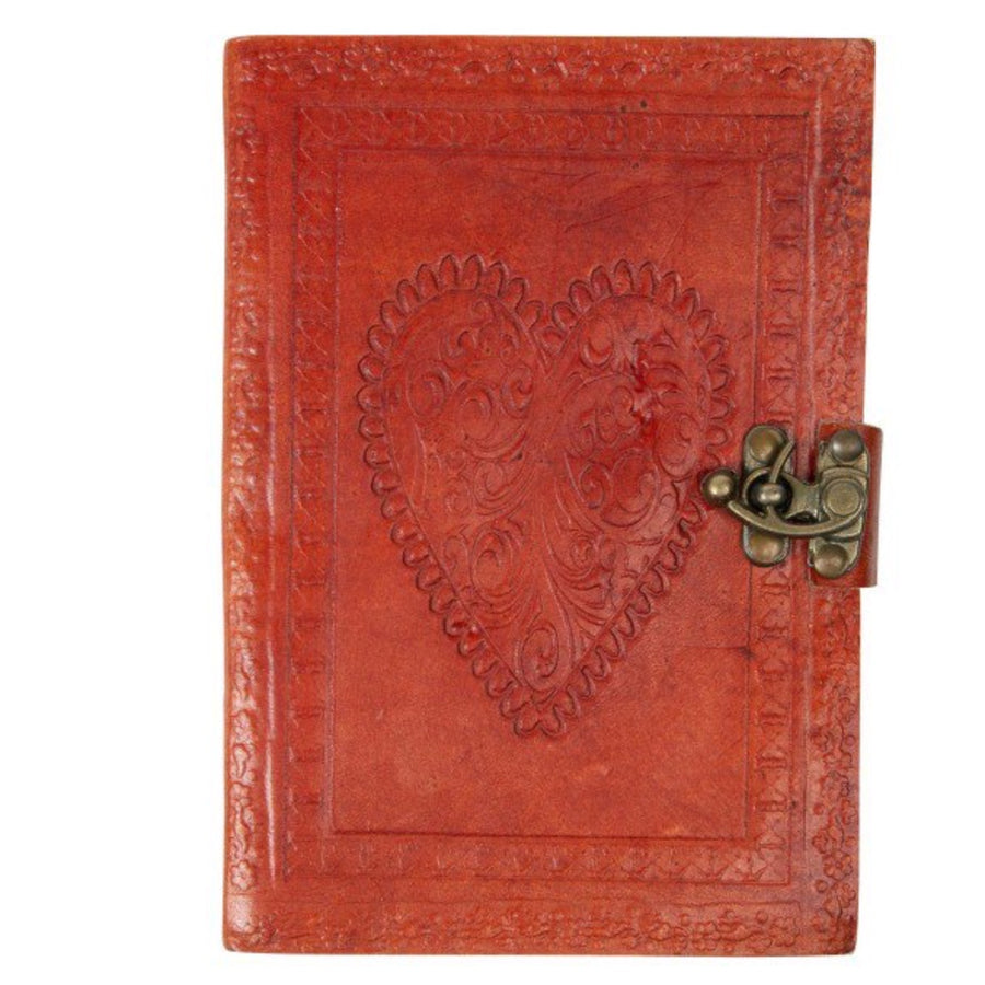 Leather Journal (Heart Cover)