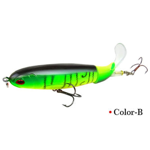 Floating Rotating Tail Lures Hard Bait