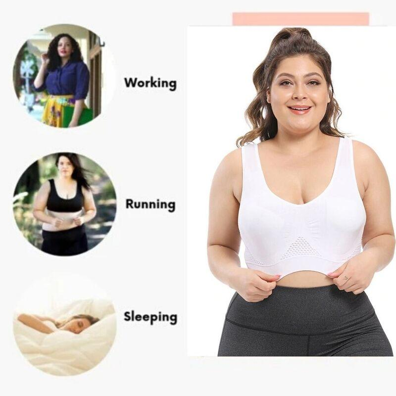 Seamless Comfort Extra-Elastic Breathable Bra (From S to 6XL)
